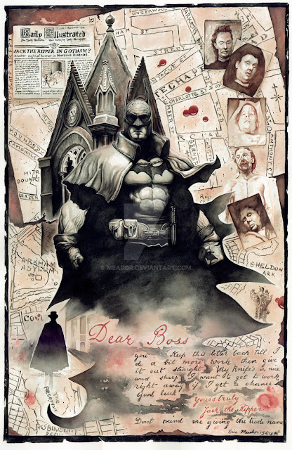 Calvin S Canadian Cave Of Coolness A Tale Of The Batman Gotham By Gaslight
