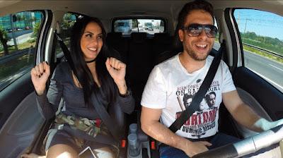"""Alinne Rosa e Mauricio Meirelles no """"Bate & Volta"""" - Divulgação/Band"""
