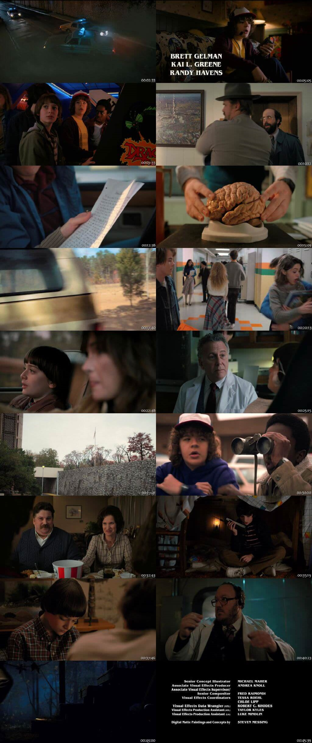 Screenshots Of Hindi Dubbed Show Stranger Things 2017 Season 02 Complete All Episodes 300MB 720P HD