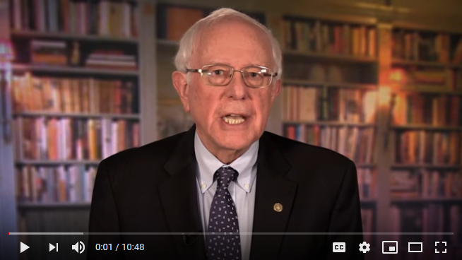 BERNIE IS RUNNING FOR PRESIDENT. Why care?