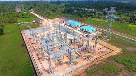 pengamanan aset tanah untuk kelistrikan di Sumatera