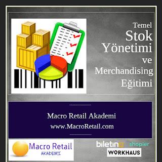 Perakendeciler için Stok Yönetimi ve Merchandising Eğitimi, GMROII, GMROF, Stok Devir Hızı, Stok Yaşı, Tedarik Zinciri Yönetimii
