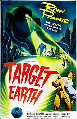 Poster - Target Earth, 1954