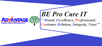 be pro cure it, advantage scm, brand , excellence
