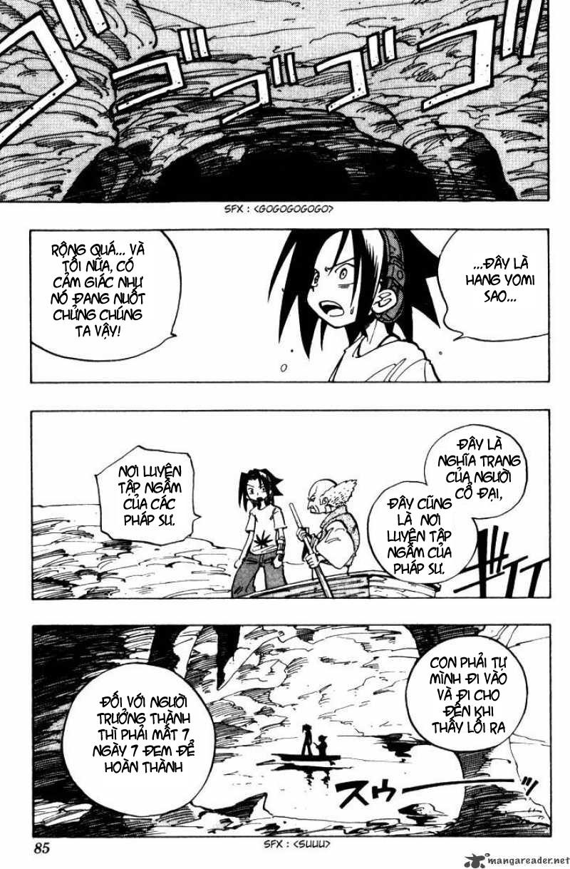 Shaman King [Vua pháp thuật] chap 48 trang 17