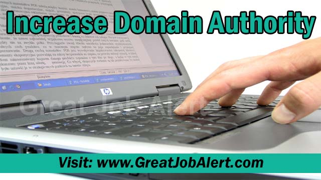 How to Increase Domain Authority (DA)