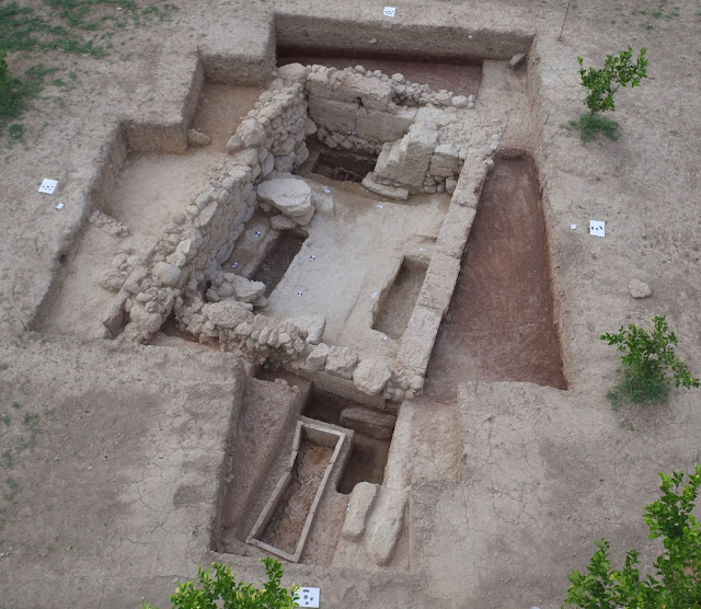 2019 excavation results at ancient Greek city of Sikyon
