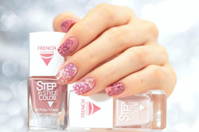 Dance legend step french, ダンスレジェンド, stamping nail, スタンピングネイル  ネイルスタンプ  セルフネイル