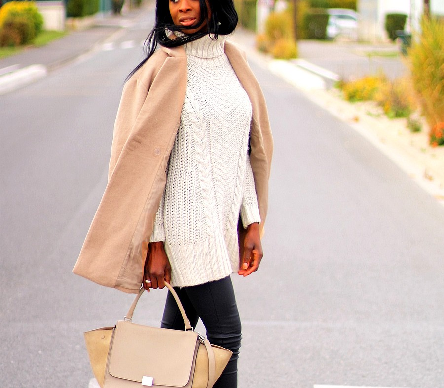 robe-pull-hm-manteau-camel