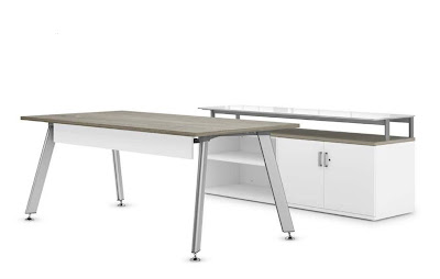 idesk table snowberry