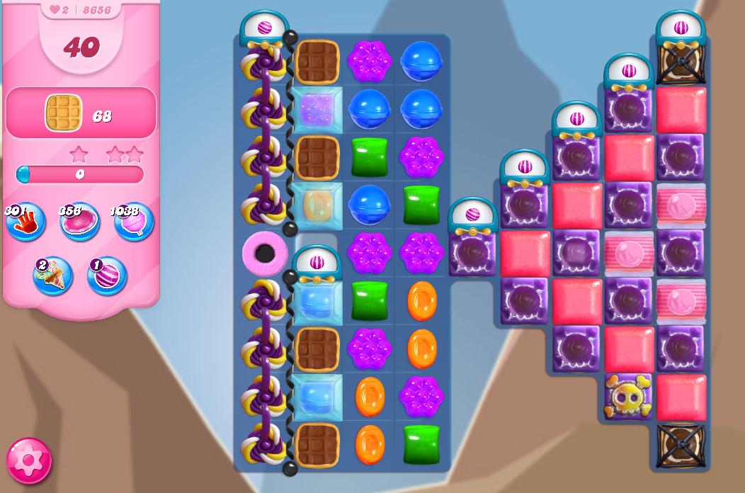 Candy Crush Saga level 8656