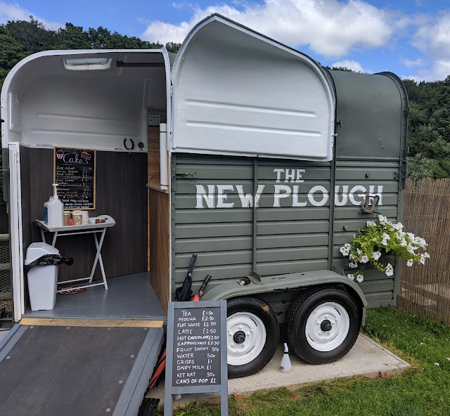 The New Plough Coffee Trailer