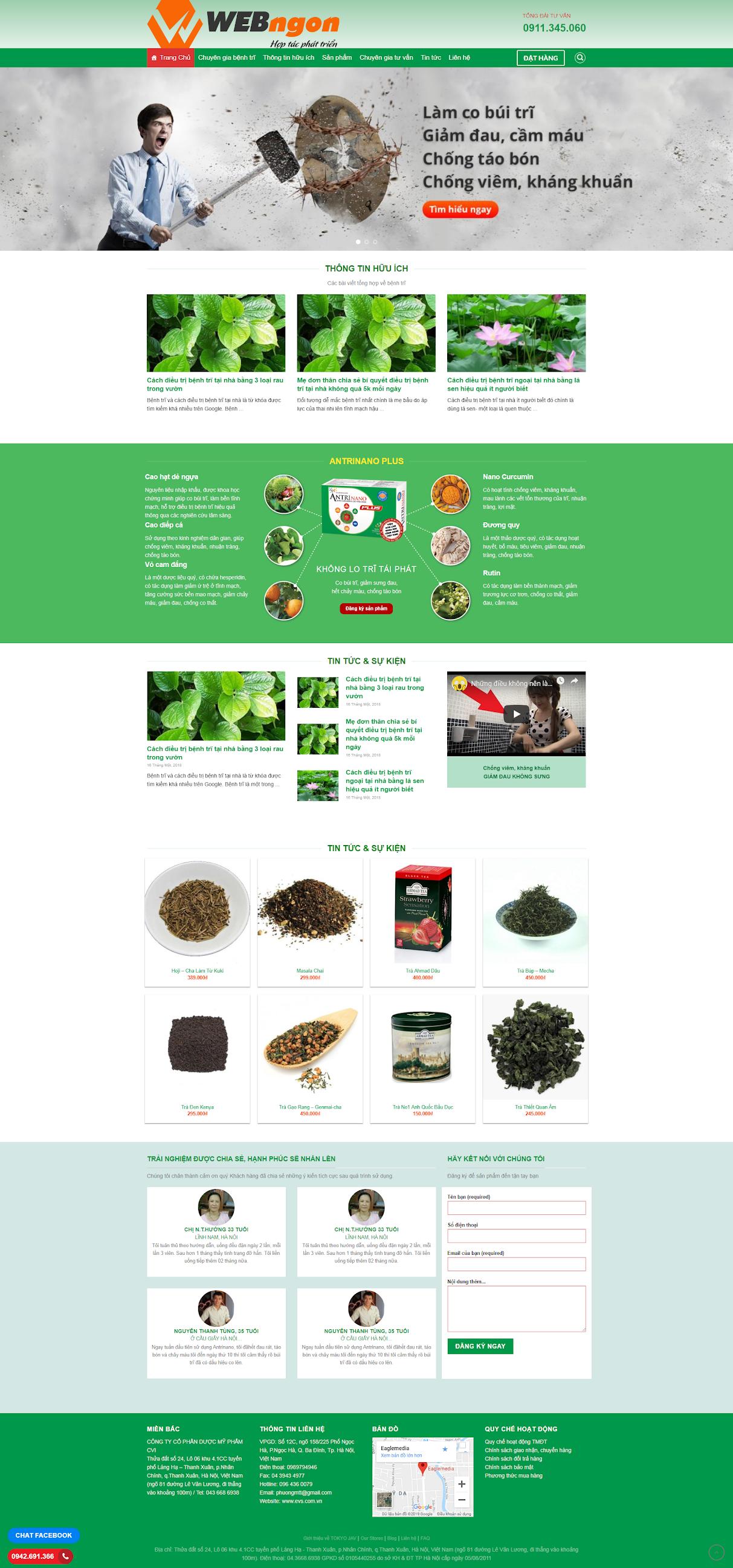 mẫu bán dược liệu thảo dược wn040