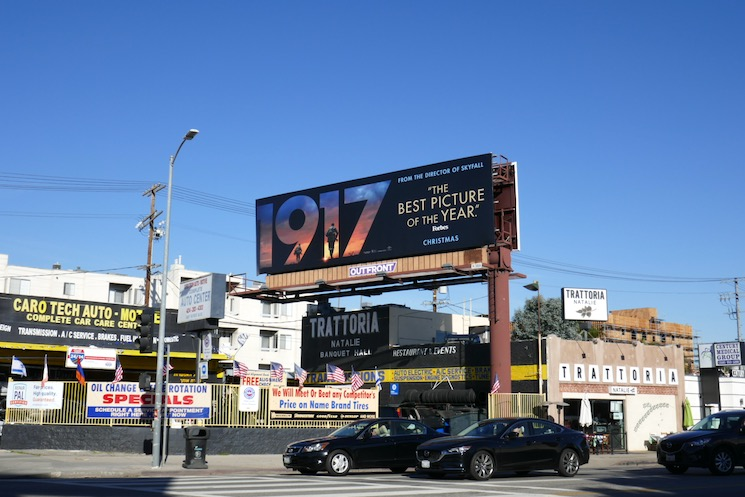 1917 Best Picture billboard