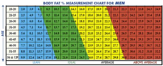 Fat Eprcentage Teen Healthy 43