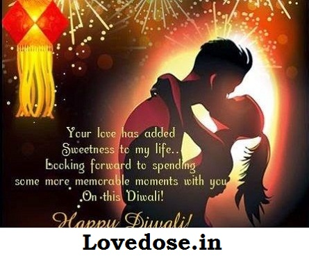 deepawali wishes for lover