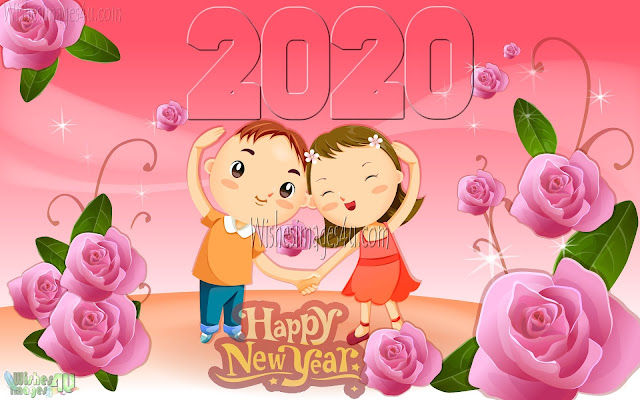 Happy New Year 2020 Romantic Messages - New Year 2020 Romantic SMS