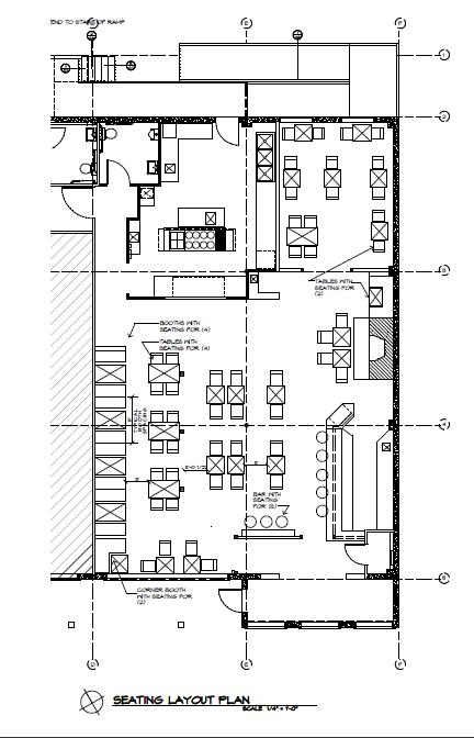 Restaurant floor plans templates for Free restaurant seating chart template