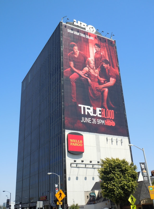 True Blood season 4 HBO billboard
