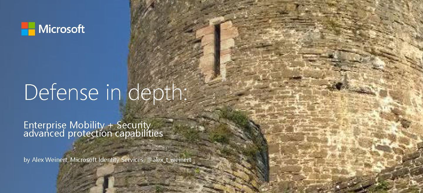 Exchange Anywhere Defense In Depth Secure Your Enterprise With