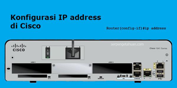 agar bisa saling terhubung, sebuah perangkat jaringan komputer harus memiliki alamat ip address
