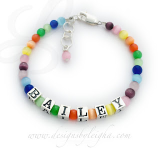 Bailey Brightly Colored Cat's Eye Beads with an Extension Clasp