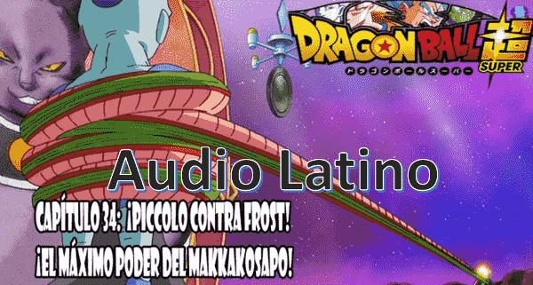 Ver capitulo 34 en audio Latino online, Goku ha sido derrotado fácilmente por Frost, Jako busca otra ubicación para poder ver mejor.