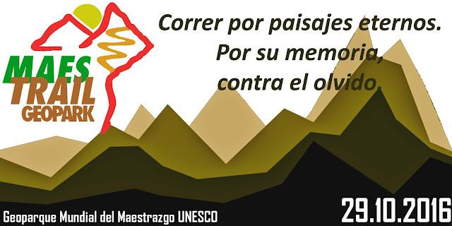 geopark maestrail trail geoparque mundial maestrazgo unesco 29 octubre 2016