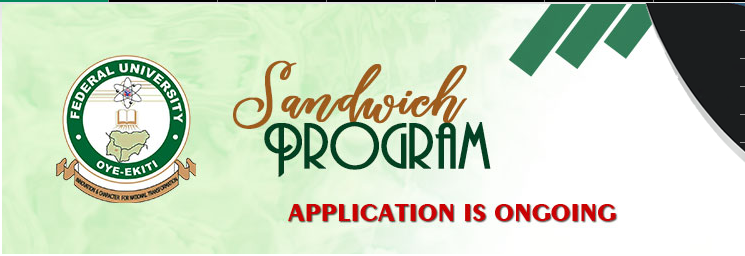 FUOYE Sandwich Admission Form 2021 Contact Session