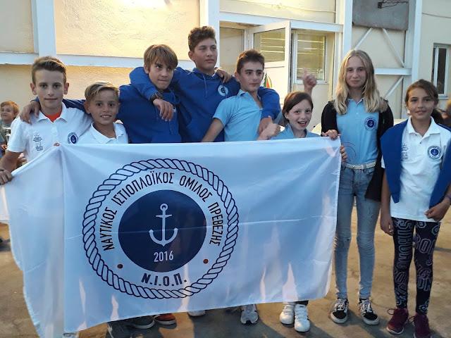 Πρέβεζα: Με επιτυχία στέφτηκε μια ακόμη συμμετοχή του Ναυτικού Ιστιοπλοϊκού Ομίλου Πρέβεζας
