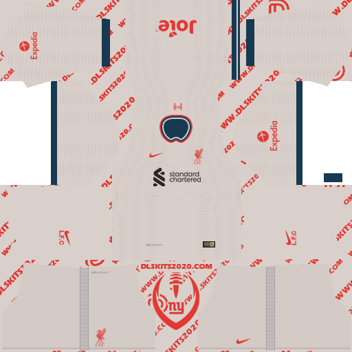 Liverpool Kits 2021-2022 Nike for Dream League Soccer 2019 (Away)