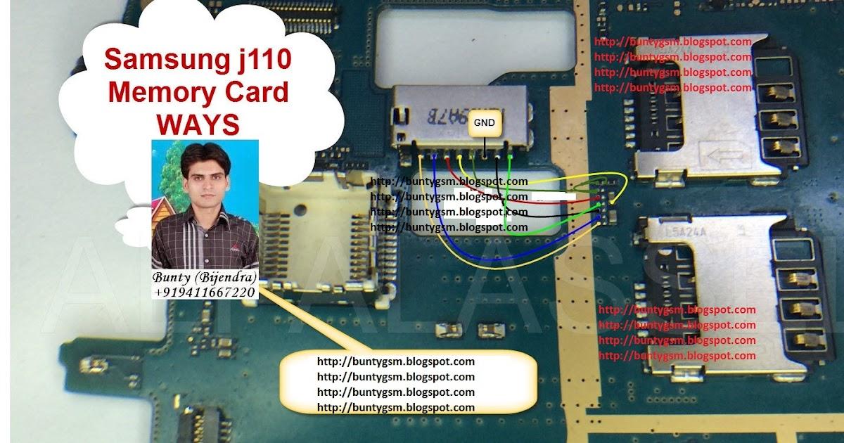 Memory card lock for mobile