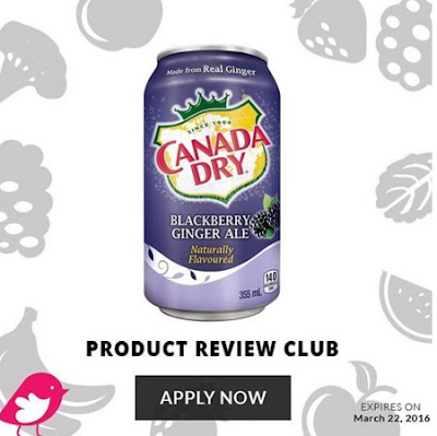 Chickadvisor Canada Dry Blackberry Ginger Ale