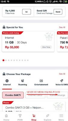 Cara Pembelian Kuota Malam Telkomsel Lewat mytelkomsel