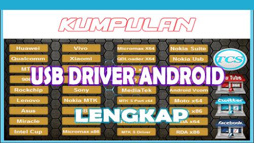 Kumpulan USB Driver Android 2019