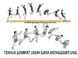 Lompat Jauh Gaya Menggantung