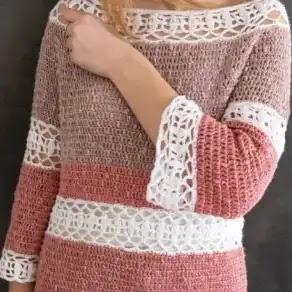 Blusa Camelia a Crochet