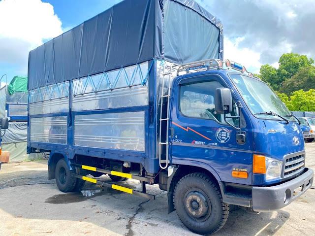 Mua bán xe tải Hyundai 3.5 tấn cũ