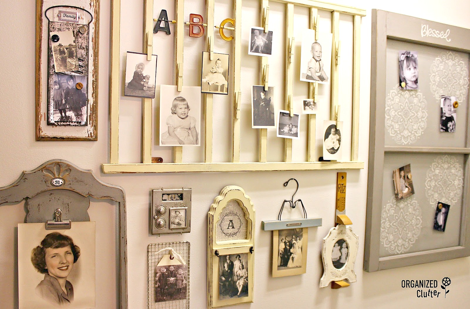 Another Project for my Repurposed Photo Holder Gallery Wall ...