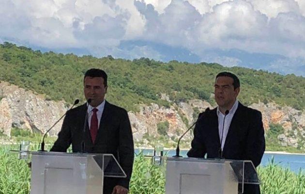 Τσίπρας: Πατριωτική και αμοιβαία επωφελής συμφωνία για τους δύο λαούς (βίντεο)