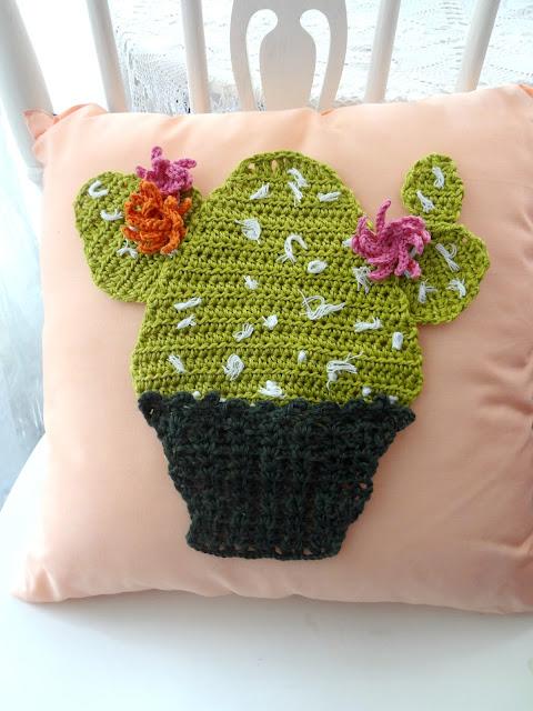 Cactus Cushion Applique