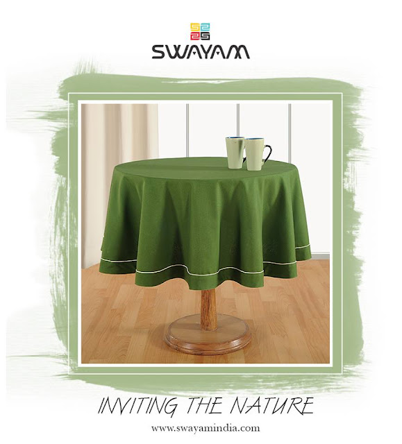 round dining table covers
