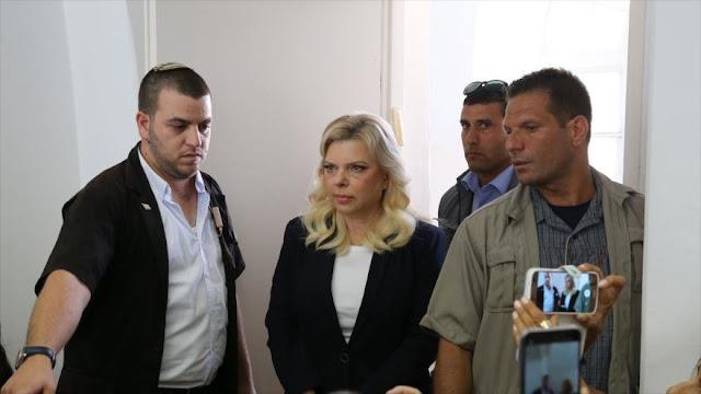 Esposa de Netanyahu, investigada en Al-Quds por fraude