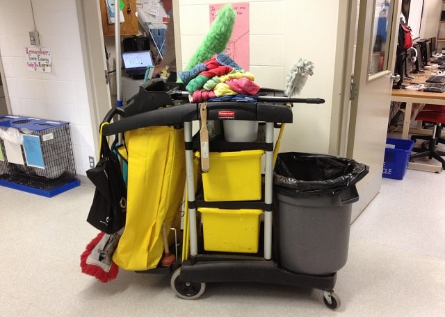 janitorial cleaning office benefits cleaner service