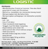 Lowongan Kerja di UD. Podomoro Plastik Gresik Jawa Timur Januari 2021