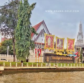 Menyusuri Chao Phraya River di Bangkok