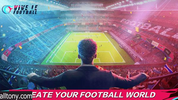 تحميل لعبة كرة القدم Vive Le Football للأندرويد APK