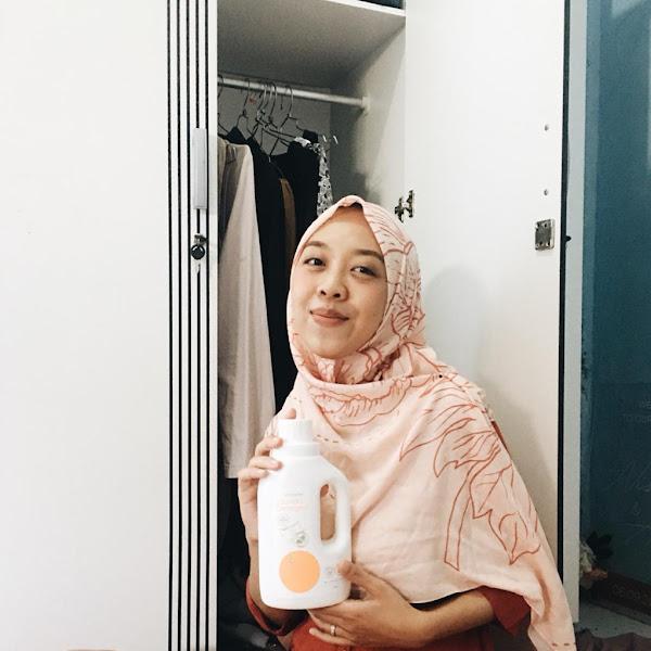 [Review] Oh My Orange, Laundry Detergent Andalan Untuk si Kecil