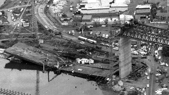 west gate bridge collapseaustralia essay The west gate bridge is the large cable-stayed bridge that spans the yarra river near the river's mouth as it enters port phillip bay an important crossway between melbourne's cbd and the western side of melbourne, the bridge was the scene of a terrible disaster that took the lives of 35 workers when the bridge collapsed on october 15th 1970.