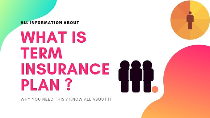 WHAT IS TERM INSURANCE ?